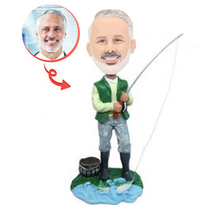 Fishing Custom Bobblehead