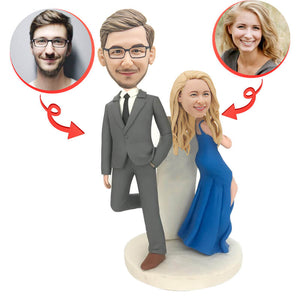 Fashion Couple Custom Bobbleheads