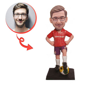 Custom Football Buddy Bobblehead