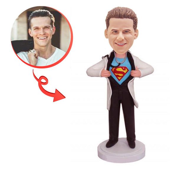 Custom Superman Doctor Bobblehead