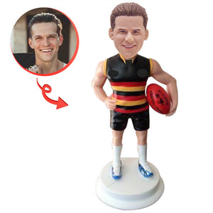AFL Footy Player Figurine Custom bobblehead