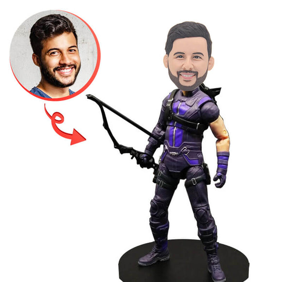 Custom Hawkeye Bobblehead