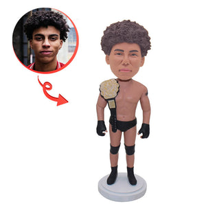 Custom Wrestler Bobblehead