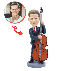 Custom Cello Player Bobblehead