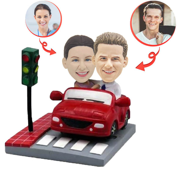 Custom Couple of Sports Cars Bobblehead