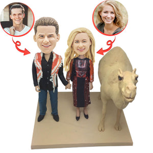 Custom Desert Wedding Bobbleheads