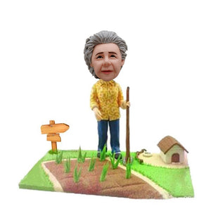 Custom Farmer For Mother Online Farmer  Bobbleheads