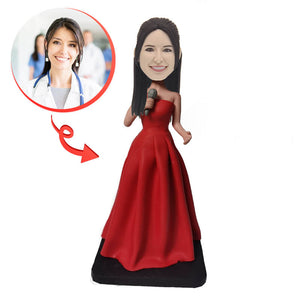 Custom Female Singers Bobblehead