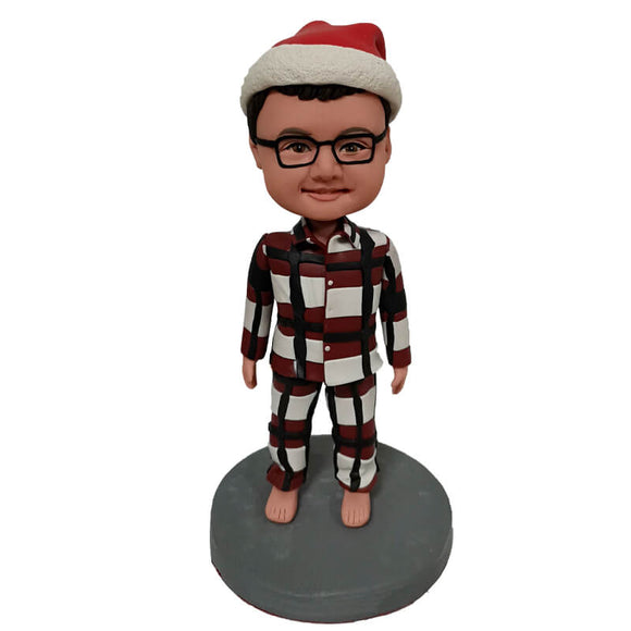 Custom Pajama boy Bobblehead
