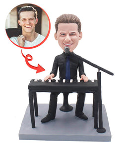 Custom Playing The Piano Bobbleheads