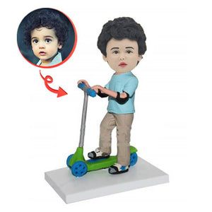 Custom Scooter Children Bobbleheads