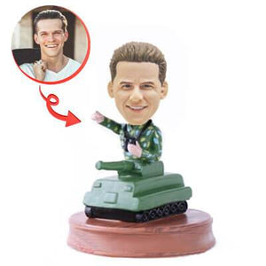 Custom Tank Man Bobblehead