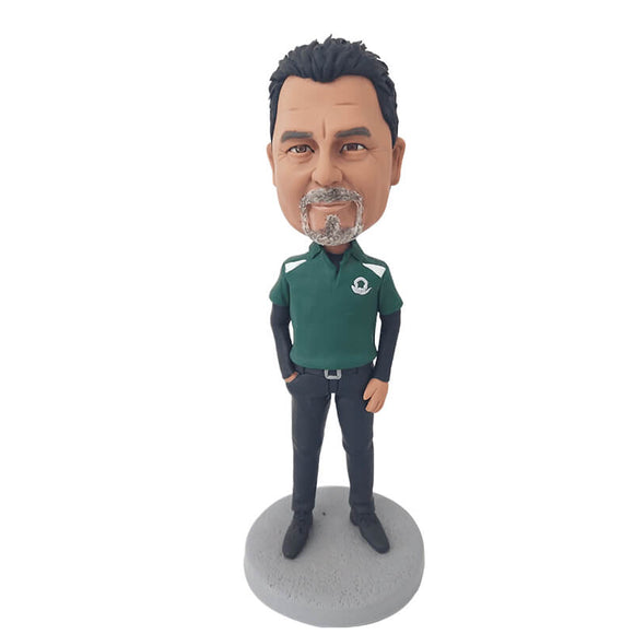 Custom Leisure Men Bobblehead