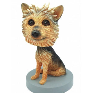 Custom Youkshire Terrier Dog Bobblehead