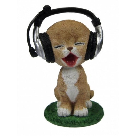 Custom DJ Cat Bobblehead
