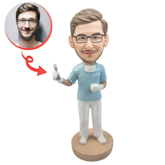 Dentist Custom Bobblehead
