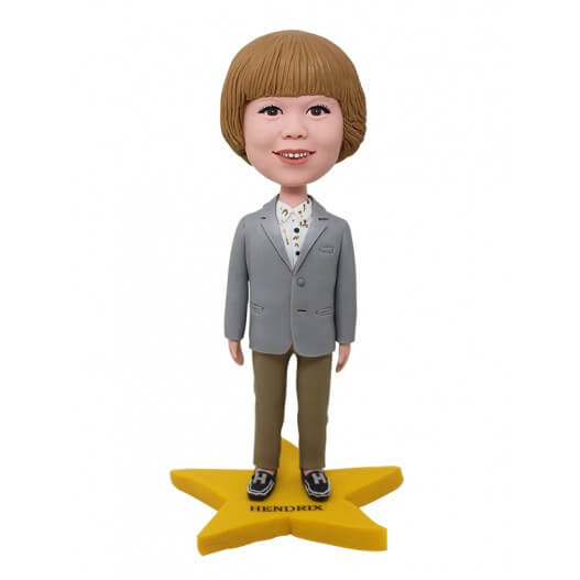 Custom Fashion Bob Girl Bobblehead