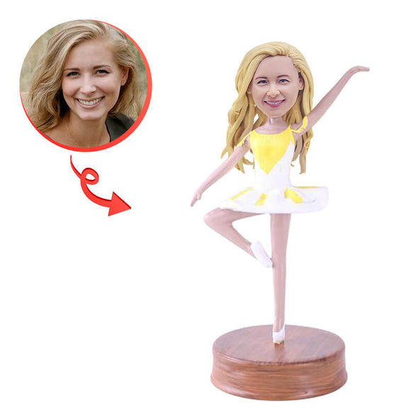 Custom Female Dancer Bobblehead