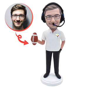 Football Sports Referee Bobbleheads