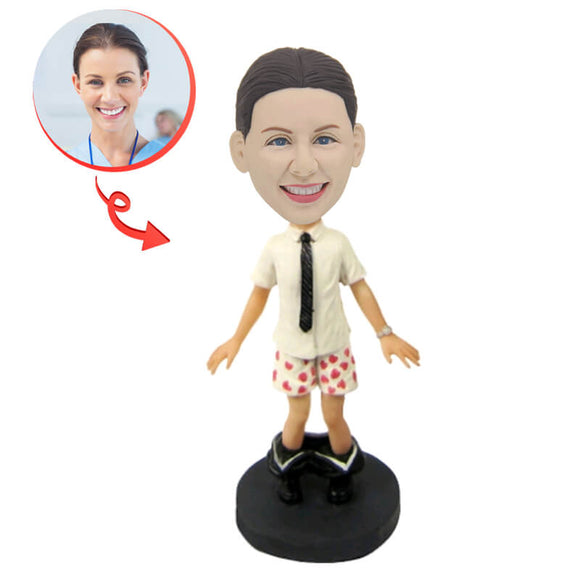 Funny Woman Custom Bobblehead