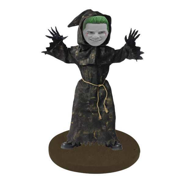 Halloween  Reaper Pumpkin Costume Custom Bobblehead