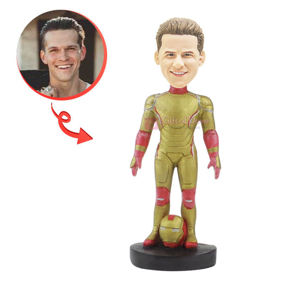 Custom Iron Man Bobblehead B
