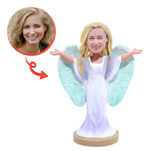 Custom Make A Angel Wings Bobblehead