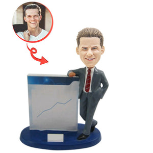 Marketing Presentation Custom Bobblehead