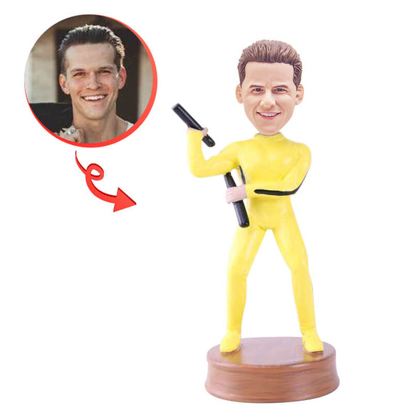 Custom Nunchucks Bobblehead