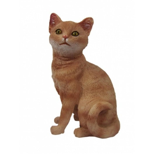 Custom Orange Cat Bobblehead