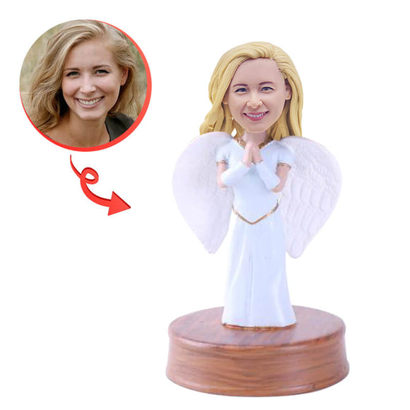 She's an Angel Custom Bobblehead