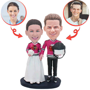 Sports Wedding Custom Bobblehead
