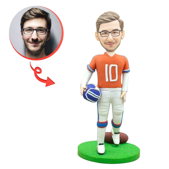 Rugby Player Custom Bobbleheads