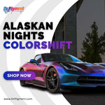 Spherical Clearcoat - Peelable paint liquid wrap. Dipyourcar AutoFlex Alaskan Nights Colorshift