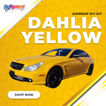 AirWrap DIY Kit - RAL 1033 Dahlia Yellow