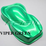 Viper Green - Pearl mica pigments. - Great for Raail, Plasti Dip, Auto Paint, Resin and Slime. Vinyl Wrap. Liquid Wrap. Dipyourcar