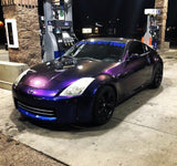 Drunk Text Colorshift Pearl mica pigments. Chameleon Blue Purple - Great for Raail, Plasti Dip, Auto Paint, Resin and Slime. Nissan 350z