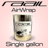 Raail AirWrap Single Gallon physical Raail Clear AirWrap