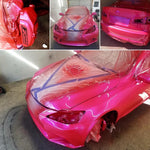 Spherical Clearcoat – Peelable paint liquid wrap. Dipyourcar AutoFlex  Pink Poison (Red Base)