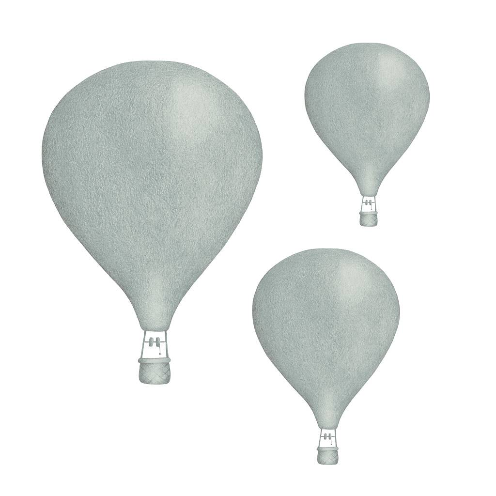 Dusty Green Balloons