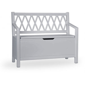 Harlequin Kids Storage Bench - Grey