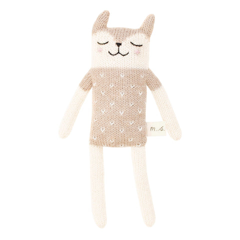 Small Fawn Knit Toy - Sand