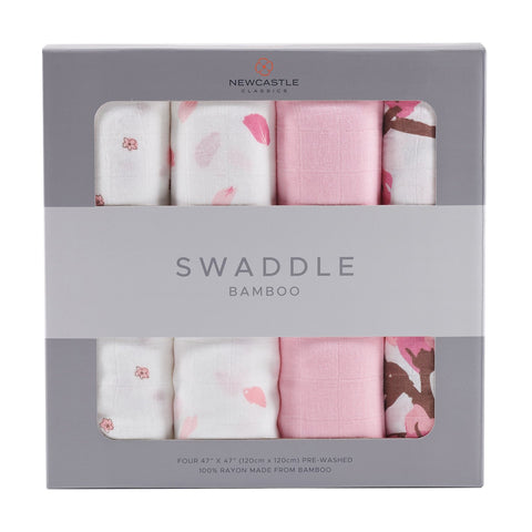 Flower Swaddle - 4 Pack