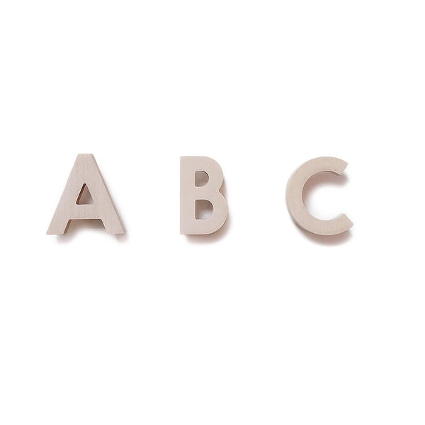 ABC Wall Hooks - Natural