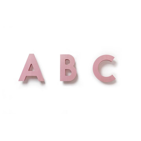 ABC Wall Hooks - Rose