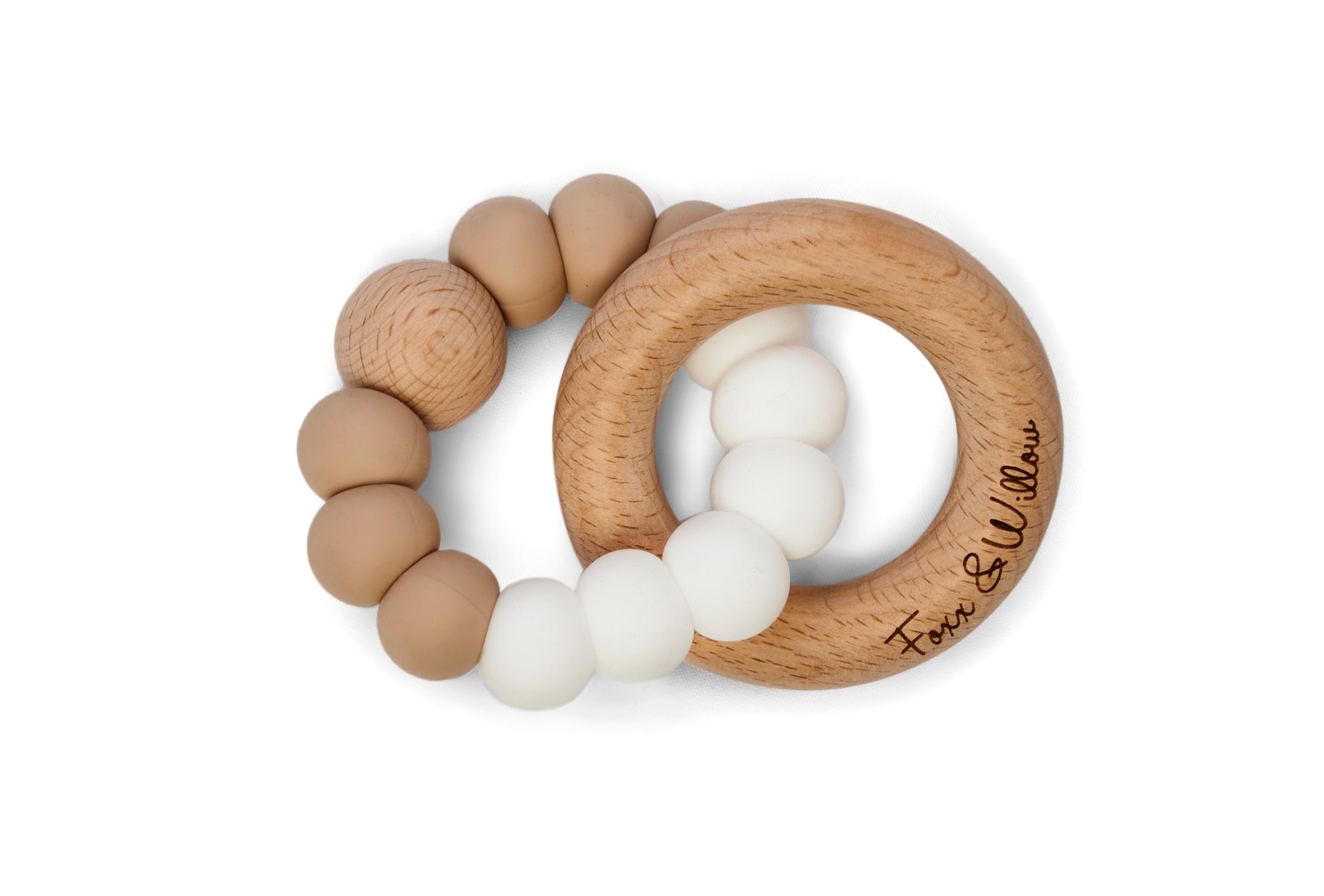 Infinity Teether - White