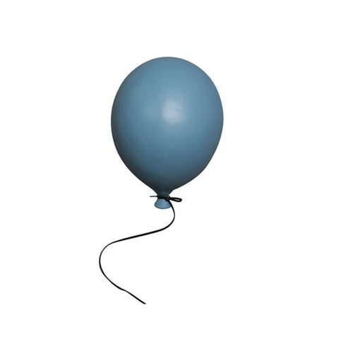Ceramic Balloon Decoration - Blue