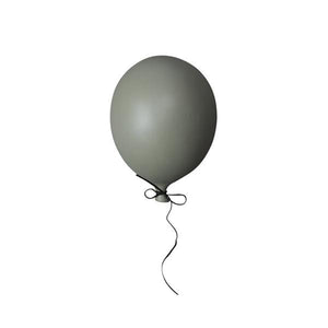 Ceramic Balloon Decoration – Dark Green
