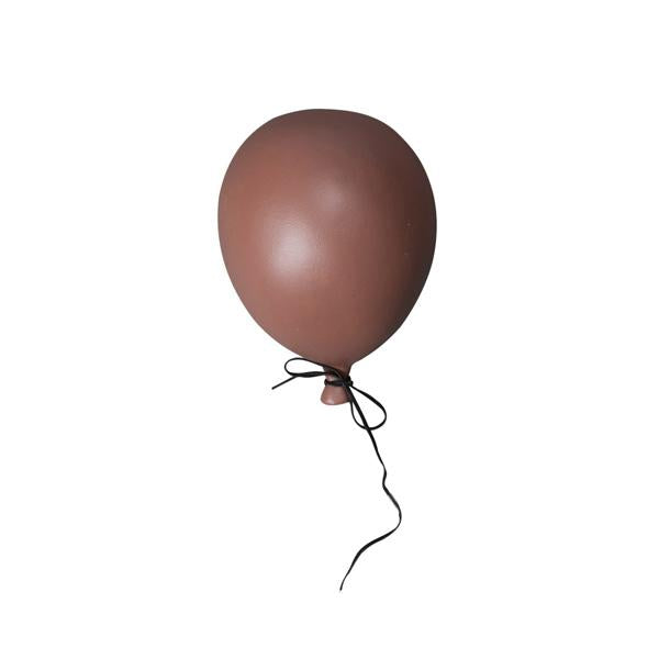Ceramic Balloon Decoration – Dusty Red