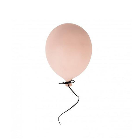 Ceramic Balloon Decoration – Soft Pink